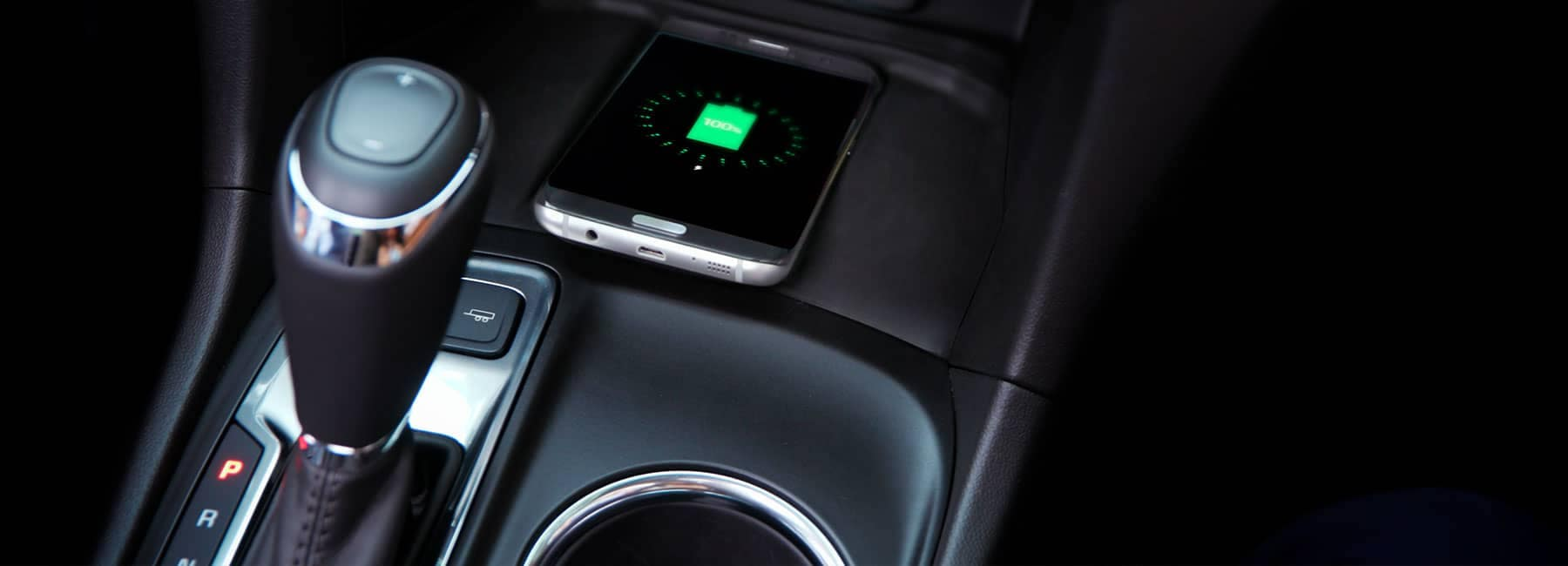 Smart Phone charging within the center console of a Chevrolet Vehicle