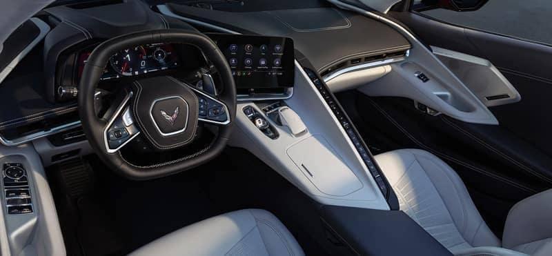 2020 Chevy Corvette Interior