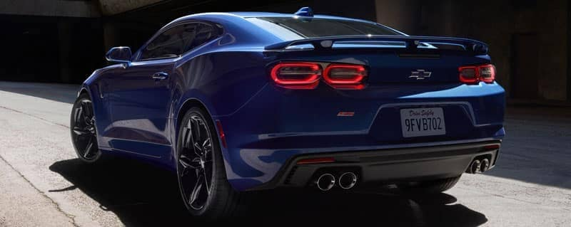 2020 Chevy Camaro back