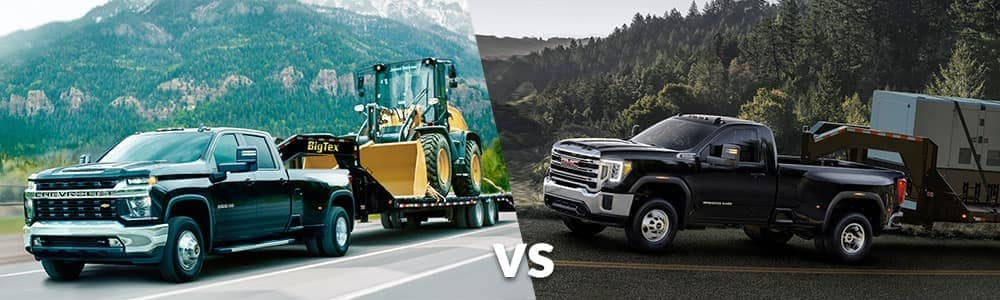 2020 Chevy Silverado 3500 vs. 2020 GMC Sierra 3500 HD