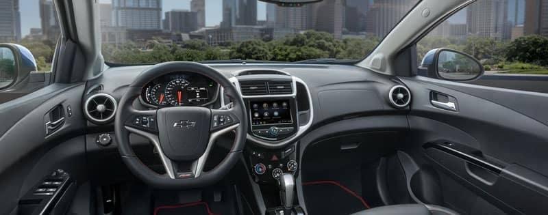 2020 Chevy Sonic interior