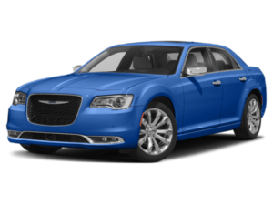 Angled view of the Chrysler 300