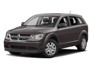 Angled view of the Dodge Journey