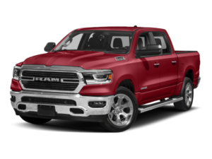Angled view of the All-New Ram 1500