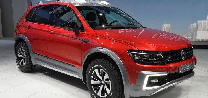 New Tiguan Concept Car Wows In Detroit