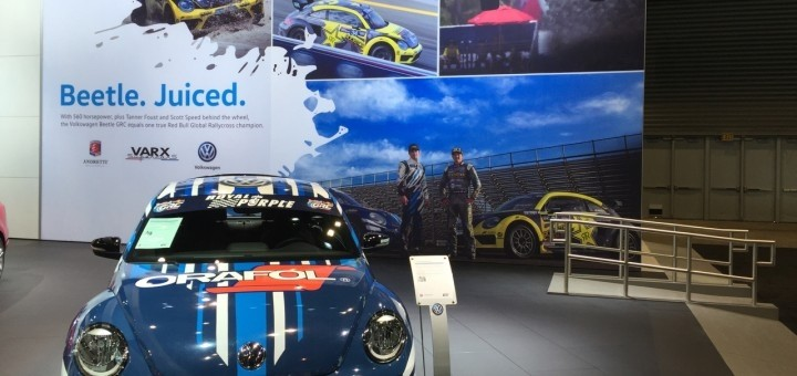 Volkswagen Motorsport Team Prepares For Global Rallycross