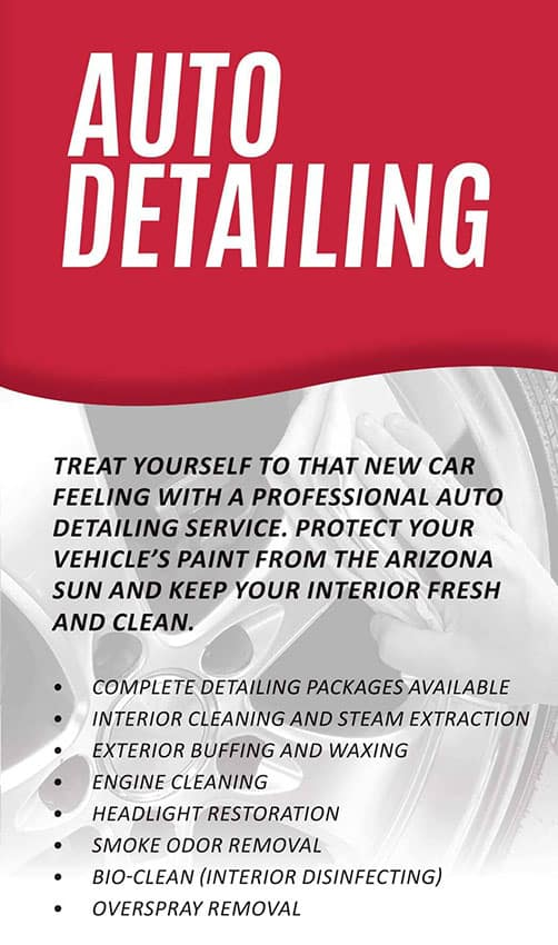 Auto detailing package bill luke tempe - Interior and exterior car detailing ...