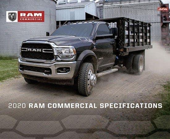 2020 Ram Commercial Specs