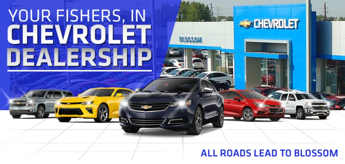 Five Chevy models are at Blossom Chevrolet, a Chevrolet Dealership Near Fishers, IN.