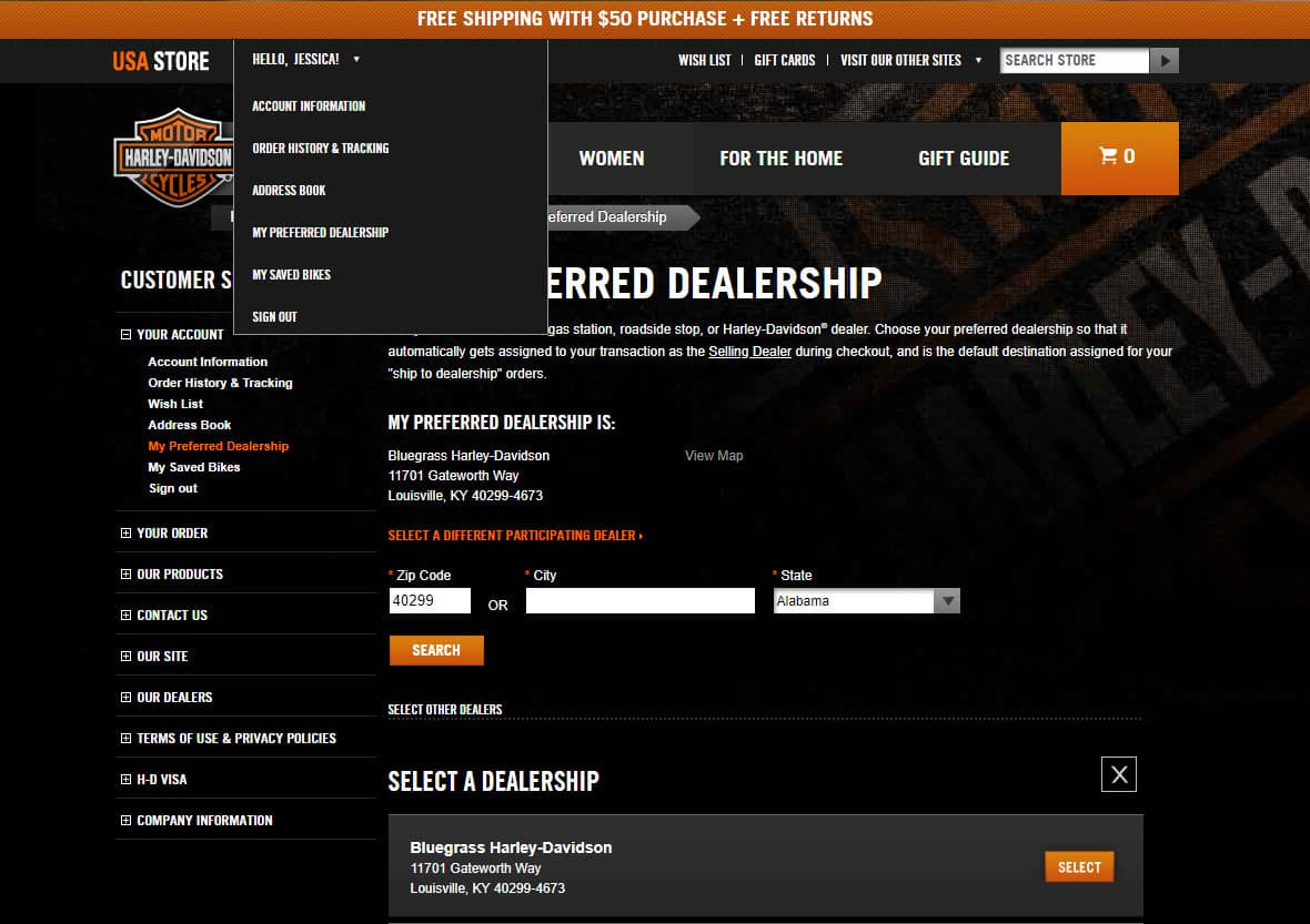 Bluegrass H-D Preferred H-D-Dealer