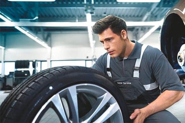 tire on rim