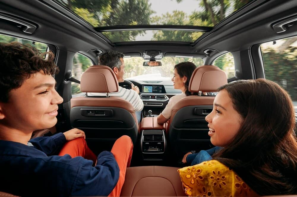 2020 BMW X5 Seats
