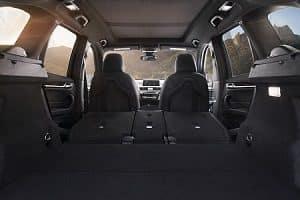 BMW X1 Cargo Space