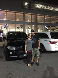Congrats Brian New BMW