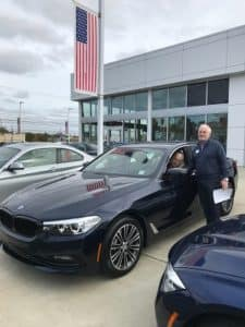 Congrats on Your BMW 540i