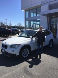 Sarah's First BMW