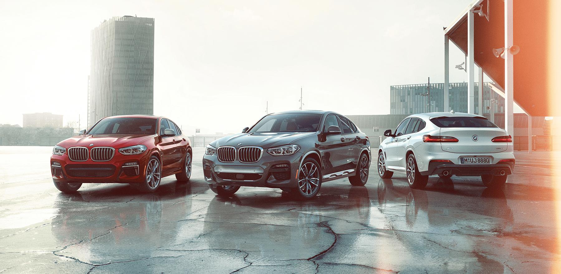 2019 BMW X4 lineup