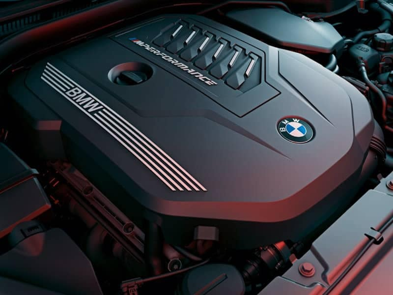 Engine of 4 Series Coupe