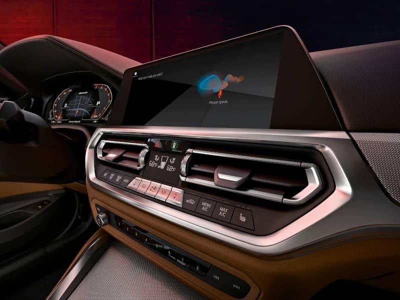 interior image of 4 Series Coupe dash