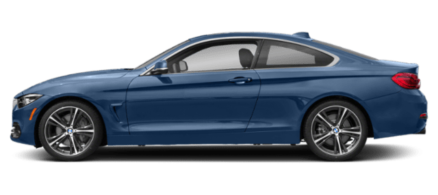 sideview of 4 Series