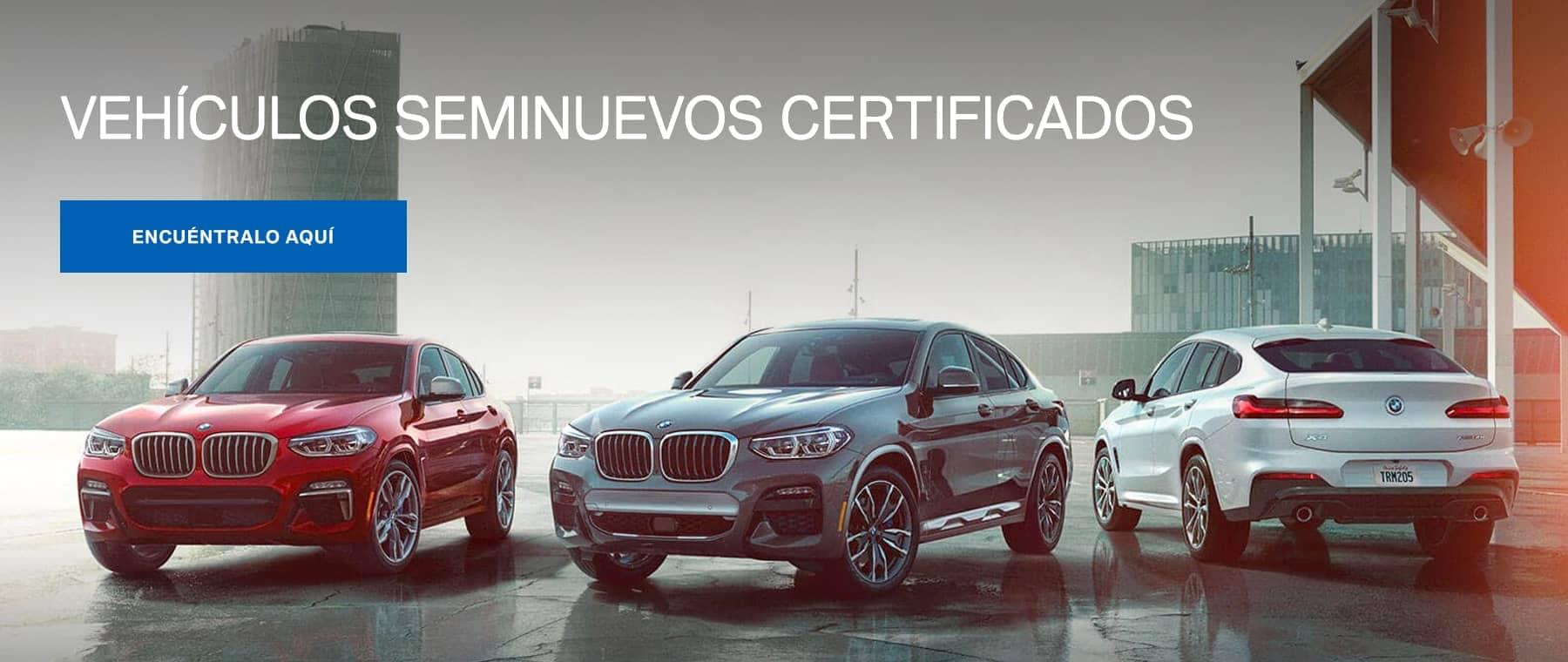 Spanish Certified BMW Banner
