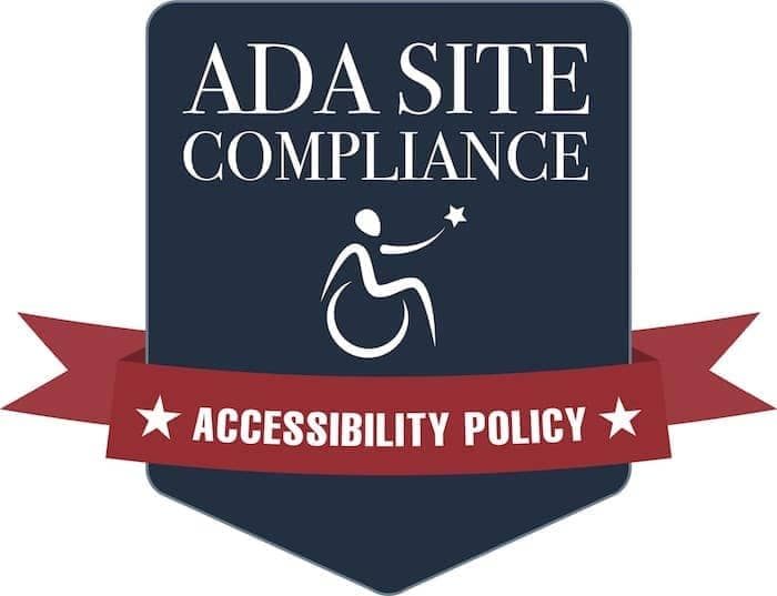 ADA Site Compliance Accessility Policy logo
