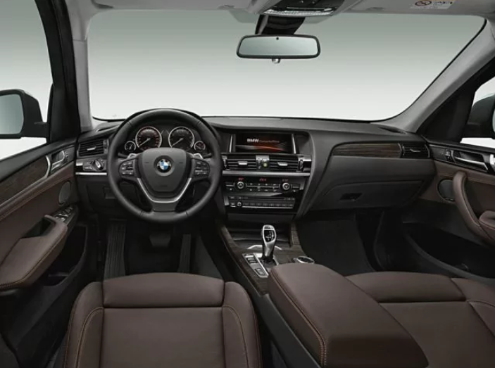 2017 Bmw X3 Interior Combines Usability
