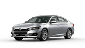 2021 Honda Accord LX in Lunar Silver Metallic