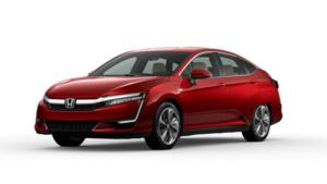 2021 Honda Clarity Plug in Hybrid in Crimson Pearl