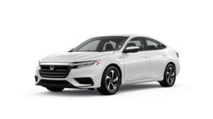2021 Honda Insight LX in Platinum White Pearl
