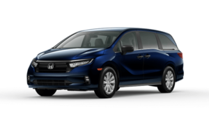 2022 Honda Odyssey LX in Obsidian Blue Pearl