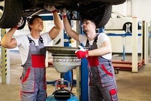 Oil Change Mechanics