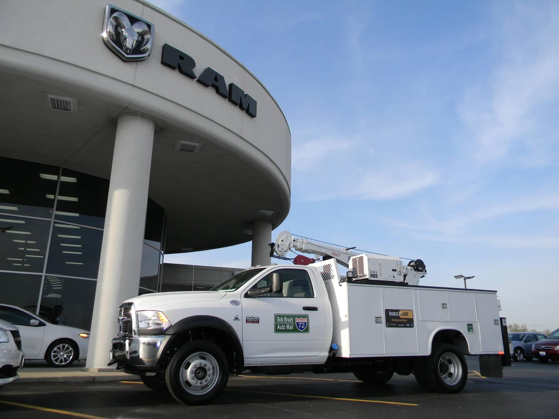 Bob Brady Truck with Upfit and Crane