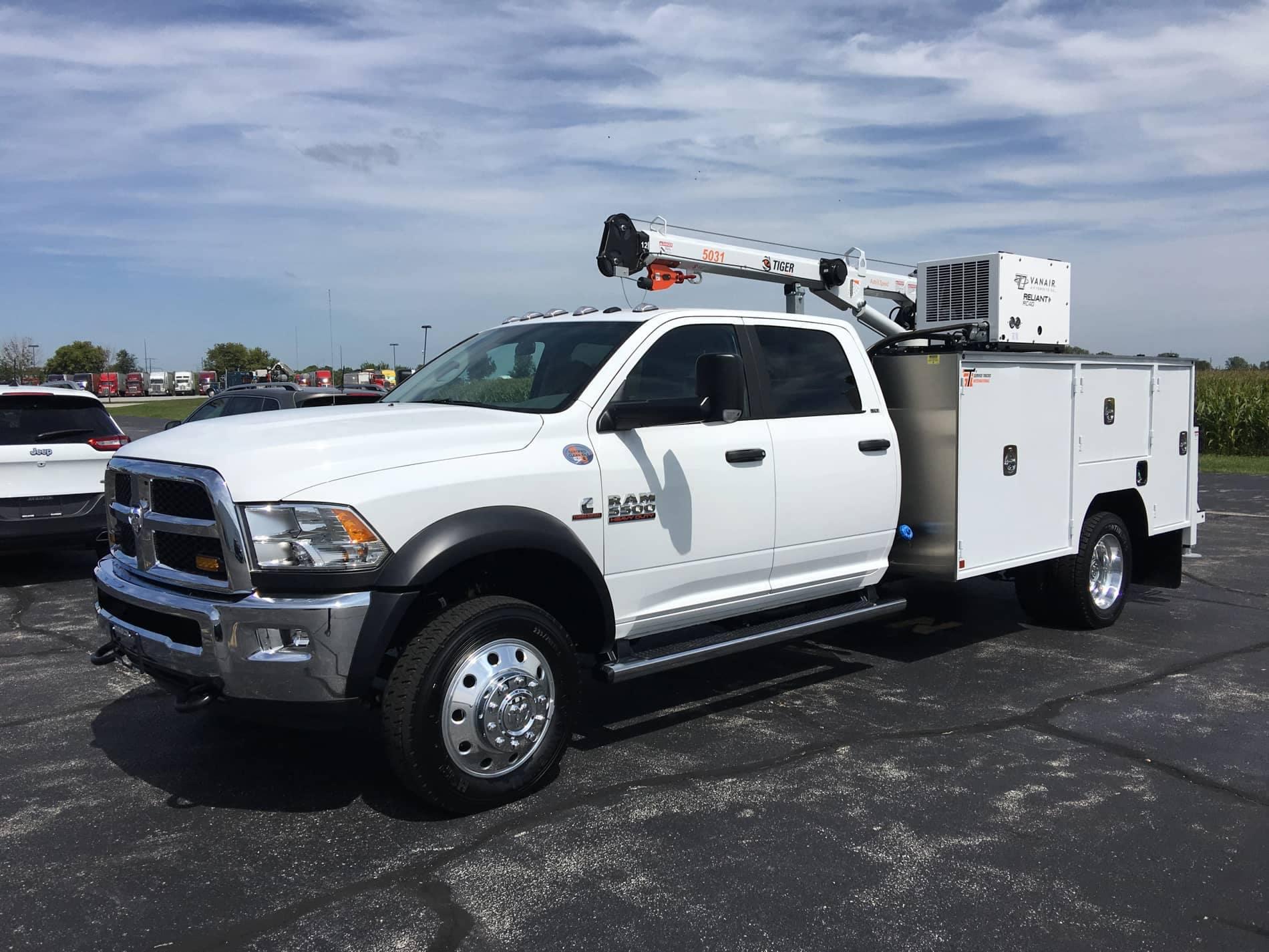 Truck with upfit kit