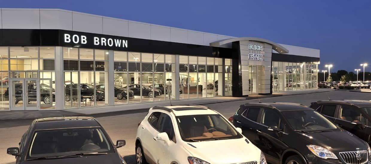 Bob Brown Buick GMC dealership view from outside