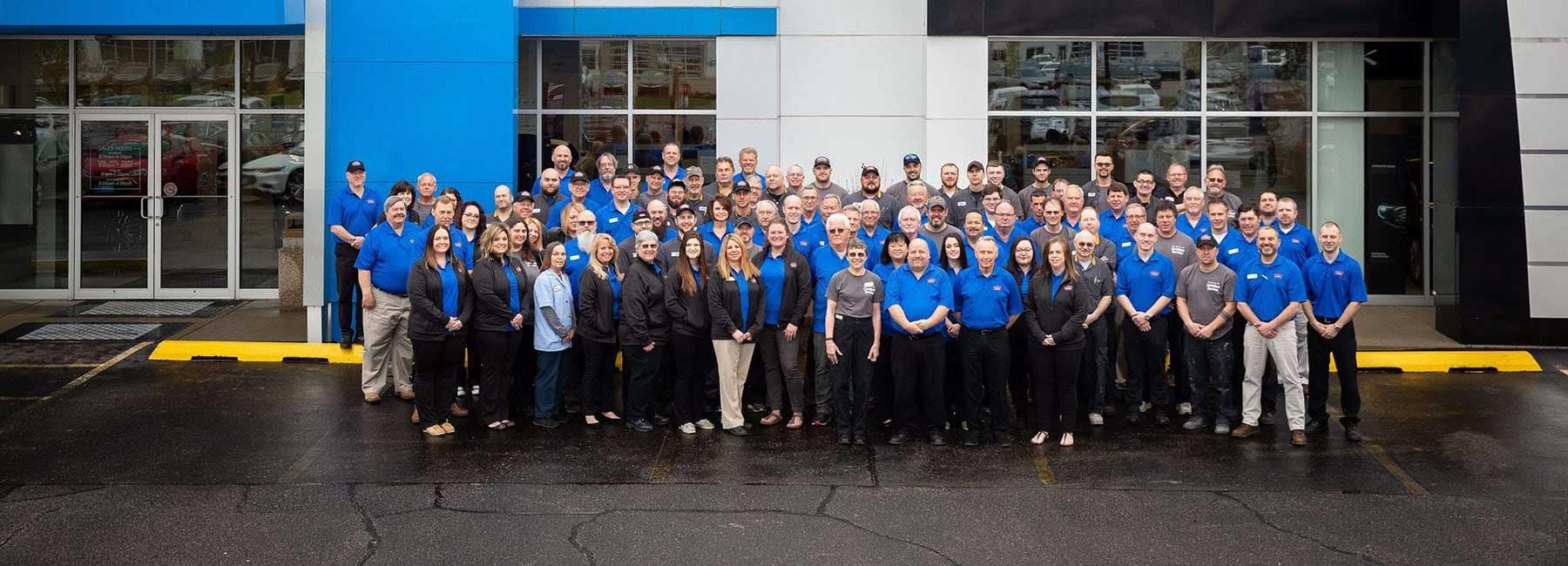 Dealership Group photo