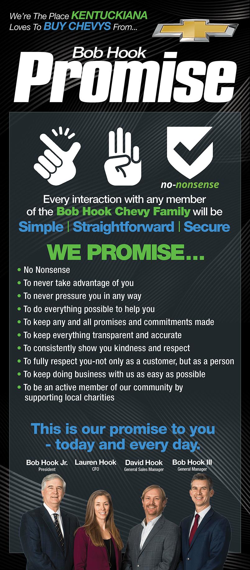 Bob Hook Promise