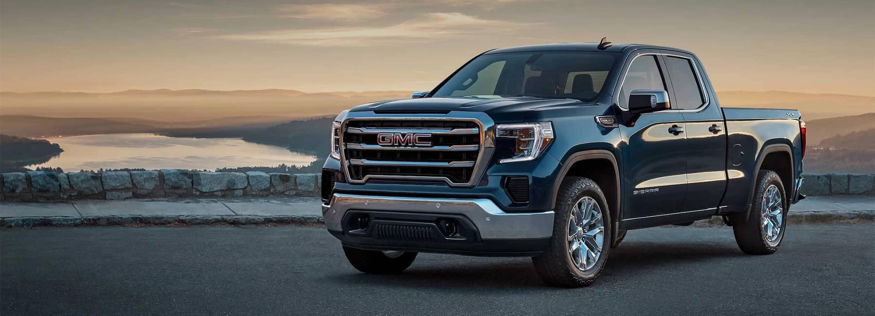 2020 GMC Sierra 1500 Pickup Truck Front Angle View