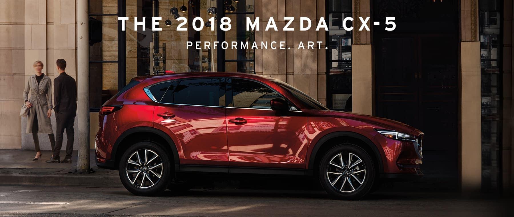 2018 Mazda CX-5 banner desktop