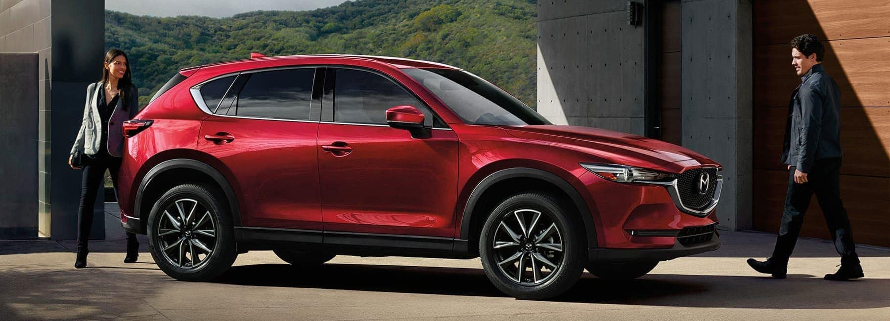 2017-cx5 new soul red Mazda car