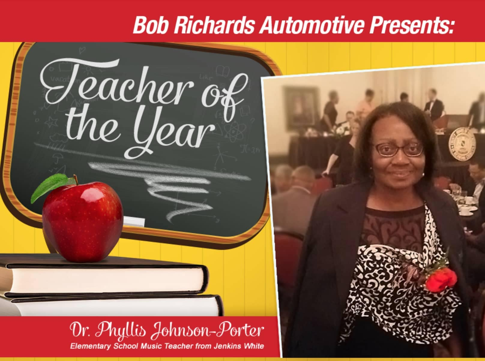 Graniteville Teacher of the Year