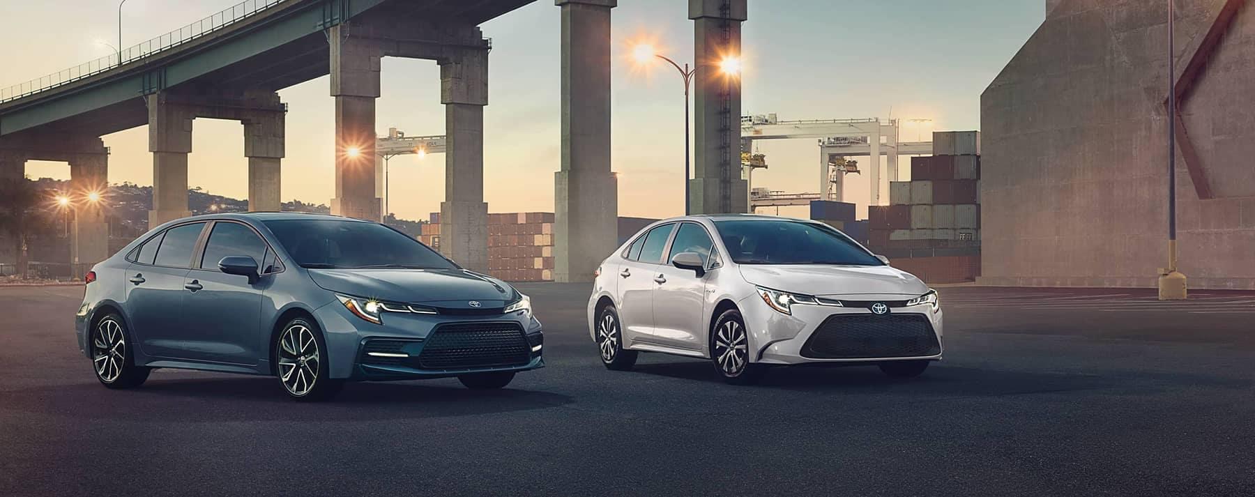 2020 Toyota Vehicles