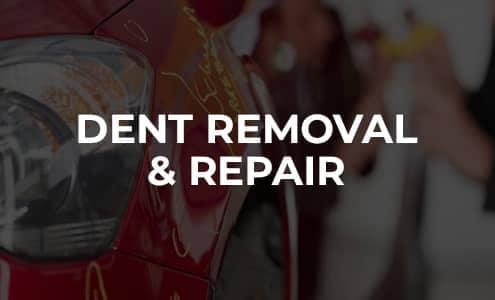 Dent Removal & Repair