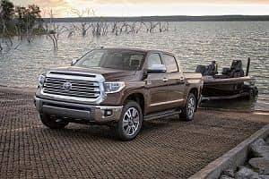 2018 Toyota Tundra towing