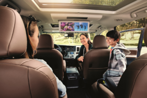 Toyota Sienna Interior Entertainment