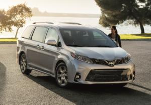 2020 Toyota Sienna Engine Specs