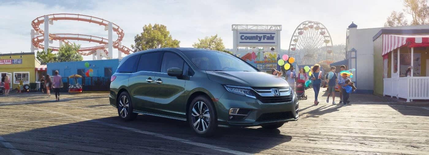 2020 Honda Odyssey at the fair
