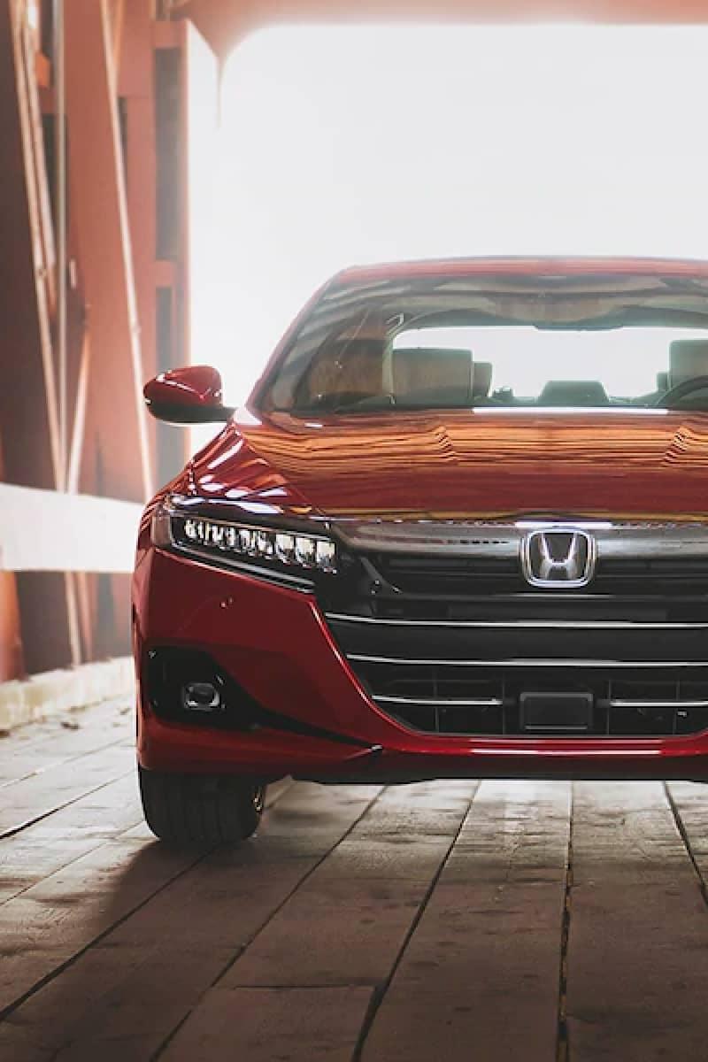 Front of Honda
