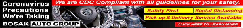 Bosak Nissan_CV19 precautions