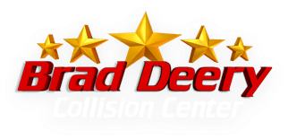 Brad Deery Collision Center Logo